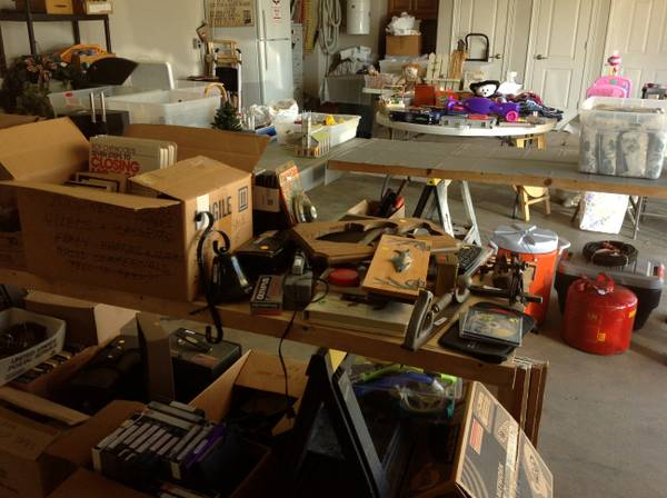 MOVING TO WISCONSIN Garage Sale (Dogwood South Sub.-Haughton)