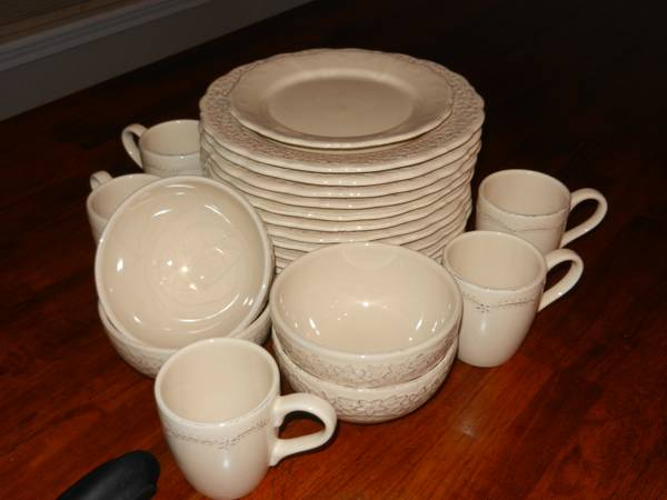 Pier 1 Dishes and Coffee Mugs - $45 (N. Bossier)
