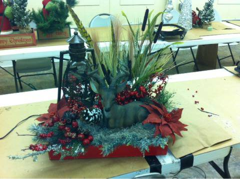 Christmas decor - $60 (Haughton)