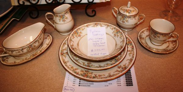 NORITAKE IVORY CHINA GALLERY - $375 (NO. BOSSIER CITY)