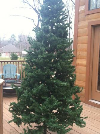 9ft Christmas tree - $30