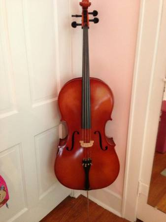 Full size 44 cello with soft case - $100 (South Highlands)