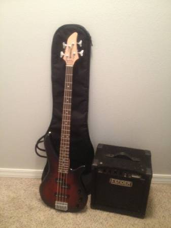 Yamaha Bass Fender Amp (Price Reduced) - $150 (Bossier City)