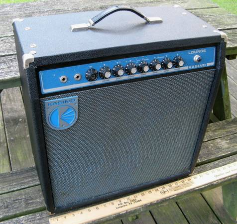 Vintage Retro Look Kasino Lounge Amp - Kustom USA - Early 1970s - $125 (Longview)