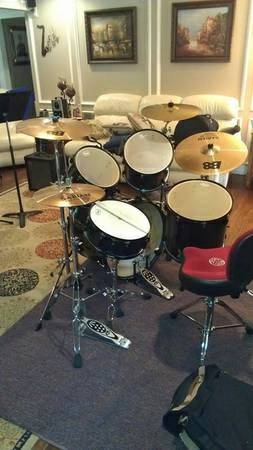 Pearl drums for sale . 5 piece Export series - $1000 (Frierson)