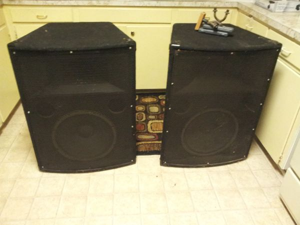 Audio centron Speakers ACE 1 TA - $400 (Shreveport)