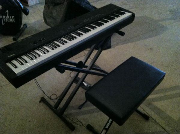 yamaha cp33 stage piano for sale. Black Bedroom Furniture Sets. Home Design Ideas