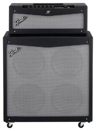 Fender Mustang V half-stack and head - $500 (Bossier City)