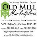 First Monday Vendors Wanted - $140 (Old Mill Marketplace)