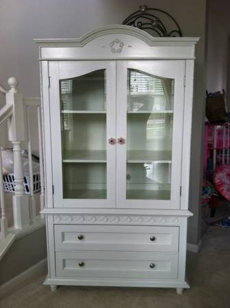 Wanted simply shabby chic armoire from target (Blanchard)
