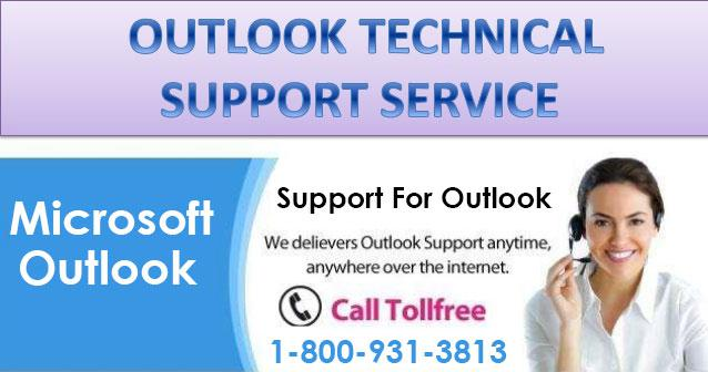 Outlook Support Toll Free Number - 1-800-931-3813