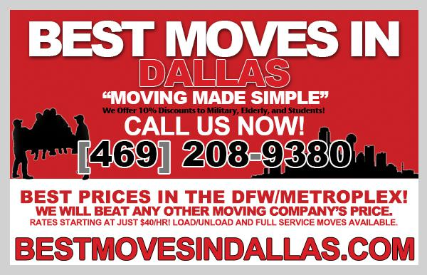40HR  Best Moves DFW  Need A Last Minute Move Today or Tomorrow Call Today
