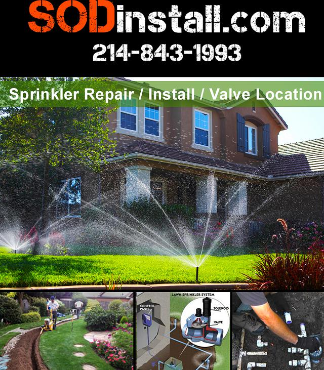 Sprinkler Install Sprinkler Repair Valve Location