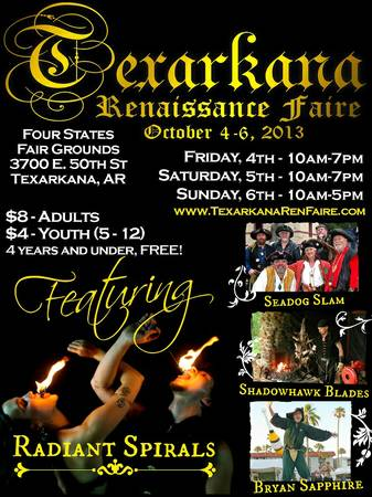 Musicians needed for Renaissance Faire  Texarkana