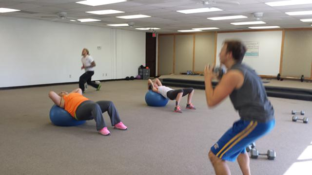 Saturday Morning Fitness Class