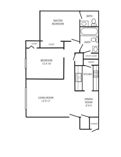 590 2br 2 bedroom 2bath apartment home for rent in - 2 bedroom homes for rent in dallas tx ...