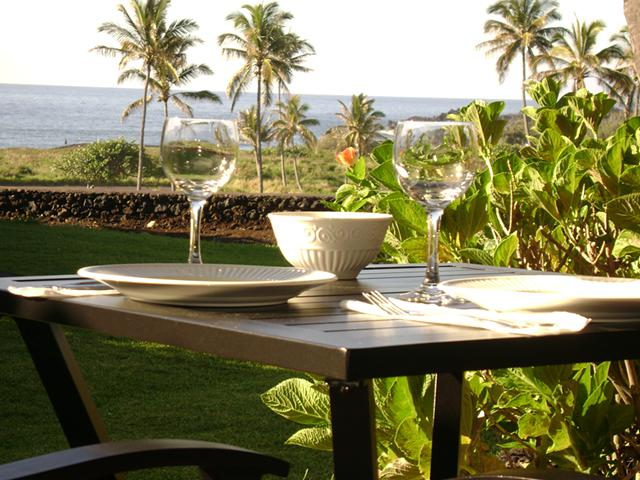 95  1br  Hawaii - Big Island - Punaluu Black Sand Beach Condo