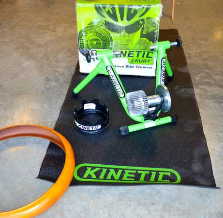 Bike Trainer Kurt Kinetic Road Machine - $350 (Little Rock)