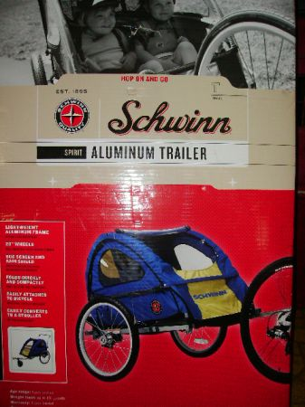 NEW Schwinn 2 child bike trailer - $100 (Texarkana)
