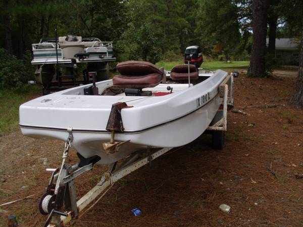 KINGFISHER BASS BOAT - $1850 (FOUKE)