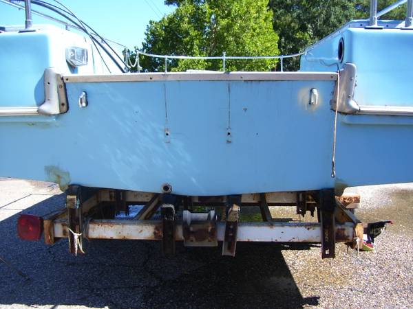 skeeter sweet thing deckboat and trailer no motor texas title - $300 (east tx)