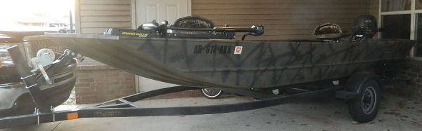 G3 1652 duckfishing boat (hot springs,  ar)