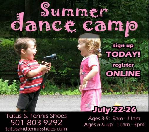 Dance Class for Kids   Register for Fall Classes    Maumelle