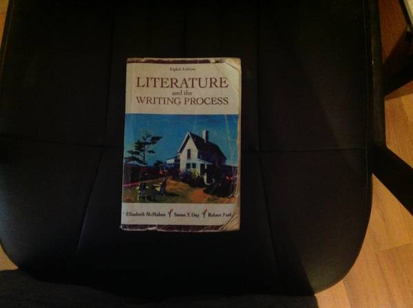 TJC English1301  1302 Literature and the Writing Process - $5 (Tyler )