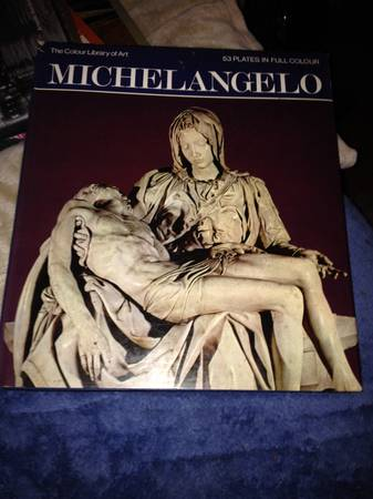 Michelangelo The Color Library Of Art -   x0024 50  Book