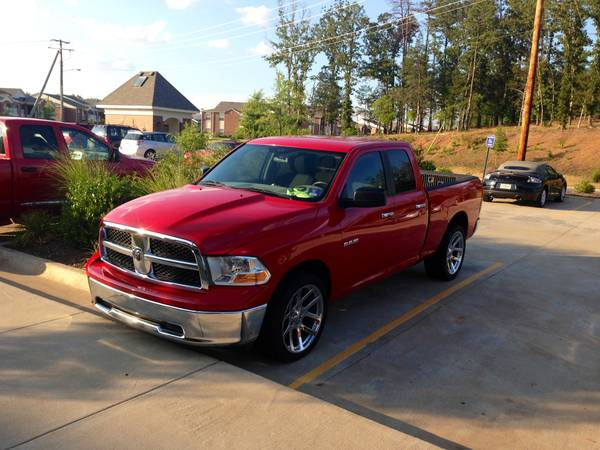 2010 4door dodge ram 1500. With new SRT RIMS AND TIRES. 17000$ - $17000 (Conway)