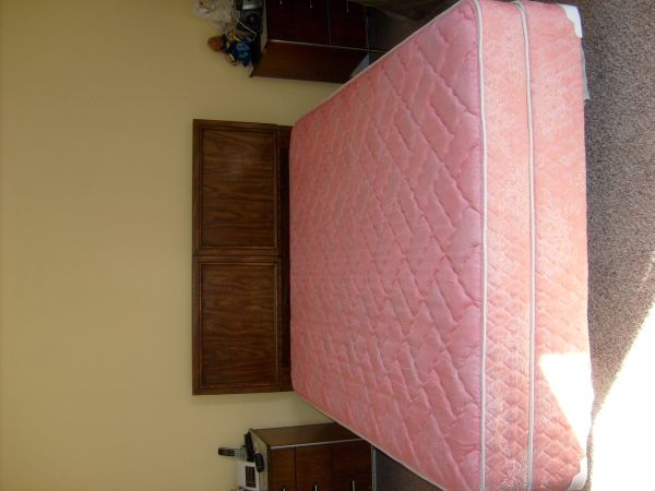 Clean queen bed for sale - $125 (De Queen, AR)