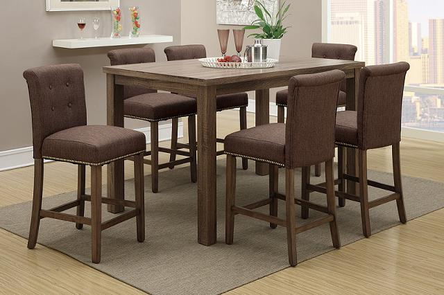 589  Bebrook 7 Piece Counter Height Dining Set--Free Delivery