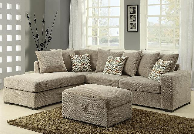 699  Ultra Sofa Cheille Fabric Sectional Sofa-2 Colors- - Free Delivery-No Credit Check Financing