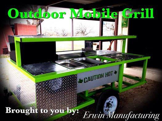 2 700  Outdoor Mobile Grill Tailgating Concession type trailer