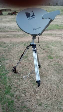 RV Portable Direct TV Dish and Stand -   x0024 125  Mineola
