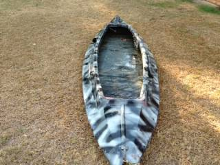 Electric Fiberglass Pirogue Boat - $450 (Hughes Springs)