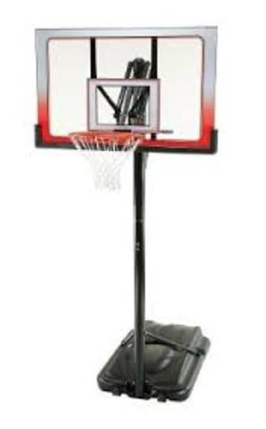 1  LIKE NEW portable basketball system