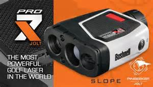 1  NEVER USED BUSHNELL GOLF RANGE FINDER  PRO X7  TOUR V3 JOLT  60 OFF