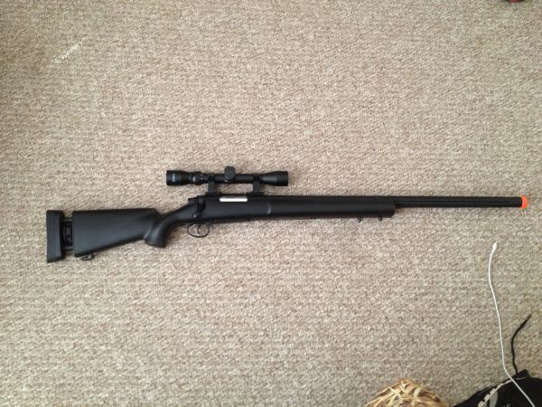 UK Arms Full Metal M24 Airsoft Sniper Rifle. - $115 (Texarkana, AR)