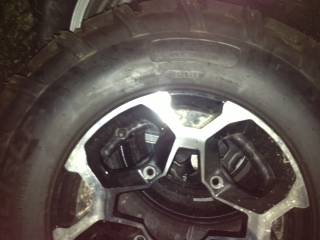 ATV Tires NEW Take offs and Wheels - $500