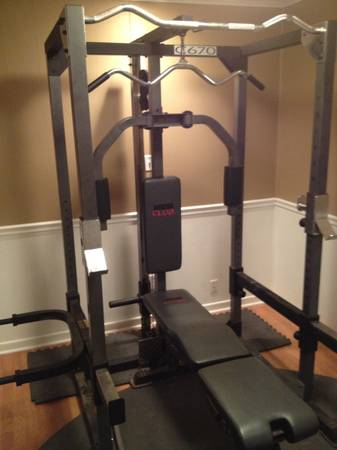 PRICE REDUCED Weider C670 Home Gym and Accessories FOR SALE - $600 (Ashdown)