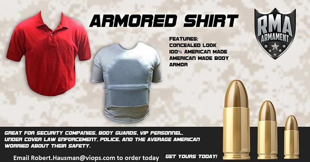ARMORED SHIRTS -  Best Conceable option