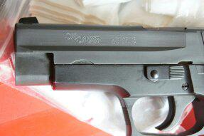 perfect condition sig sauer p226 pistol available