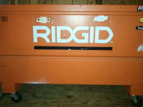 Large Rigid Job Box - $200 (Mt Pleasant Tx)
