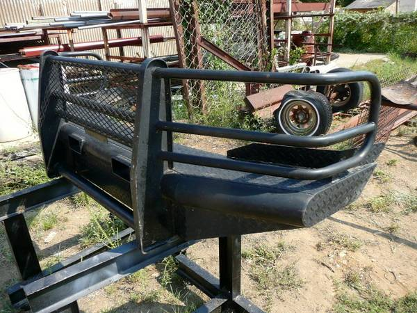 Ranch Hand Style Full Replacement Front Bumper Cattle Guard Ford F350 - $500 (Fort Worth, Texas )