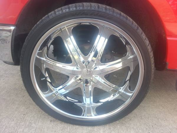 26 inch rims and tires - $1700 (Texarkana)