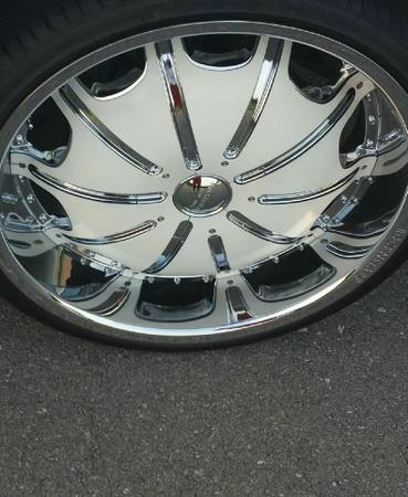 24 inch rims and tires - $1700 (ANYWHERE)