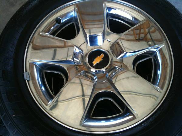 20 inch Chevy Texas Edition Wheels Tires - $550 (Texarkana)