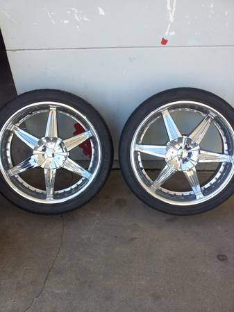 24 inch rims tires for sale 550.00 - $550 (texarkana)