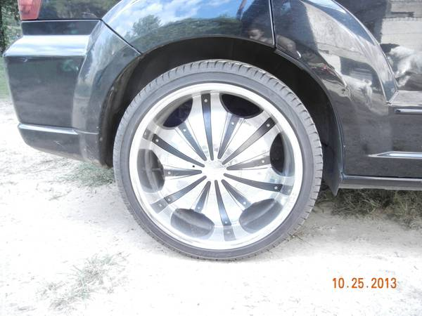 20 inch rims 5 lug universal with good tires - $800 (longview tx)